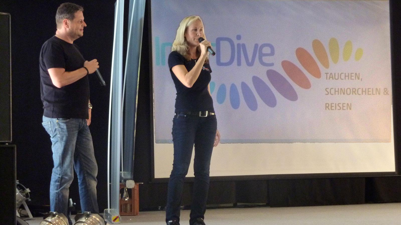 Vortrag an der InterDive in Friedrichtshafen