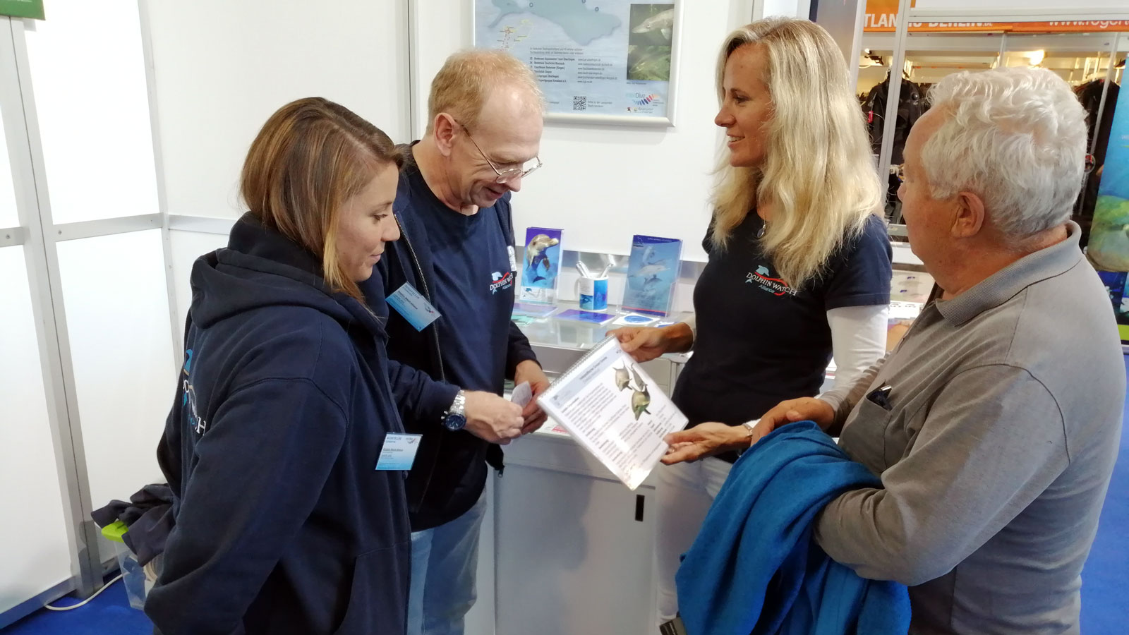 Dolphin Watch Alliance at the Interdive in Friedrichtshafen